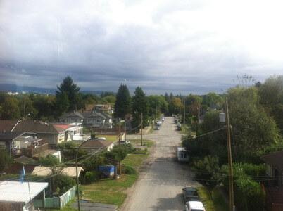 スカイトレインからの景色