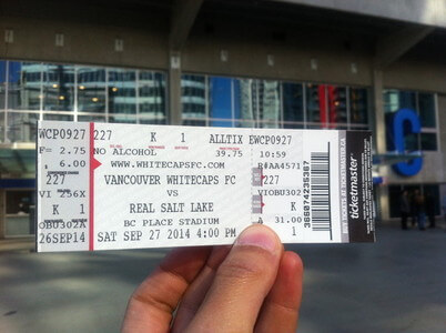 MLSのチケット