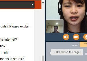 Weblio英会話の講師