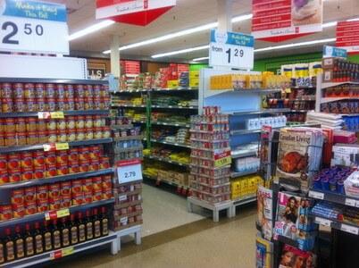 イエローナイフのスーパーマーケット