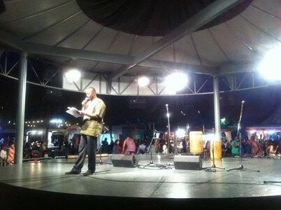 ハーバーフロントのアフリカンフェスティバル