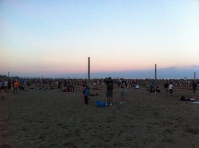 トロントのウッドバインビーチ