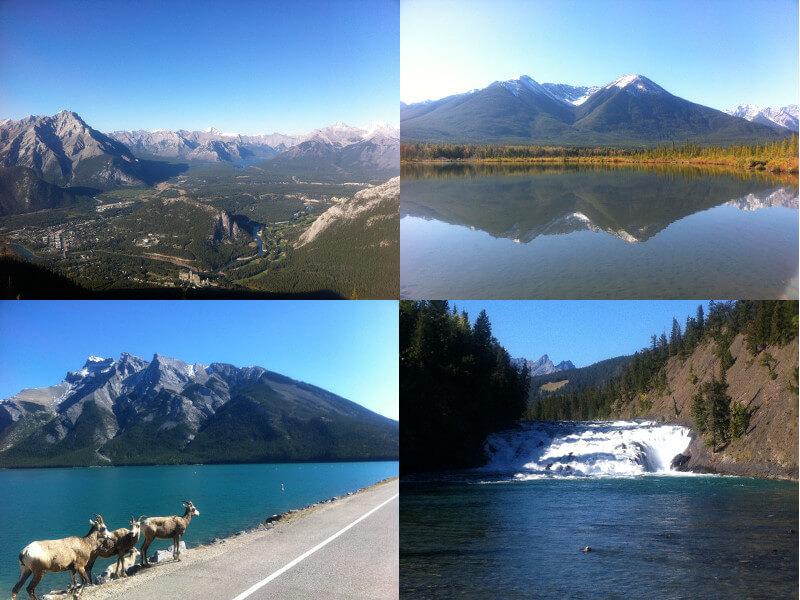 カナダのバンフ&カナディアンロッキー観光