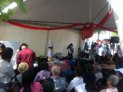 ハーバーフロントのチャイナフェスティバル
