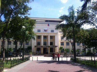 セブシティの市庁舎