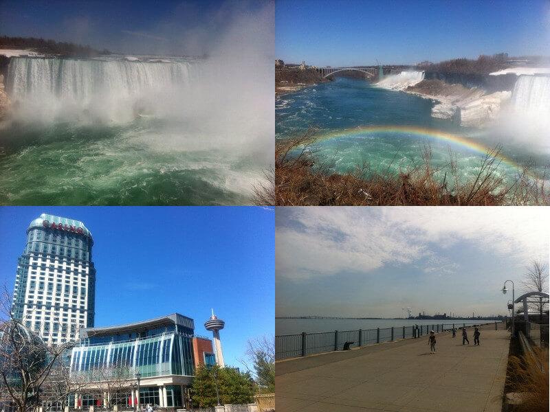 カナダのナイアガラの滝&ハミルトン観光