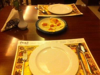 アヤラモールのイタリアンレストラン
