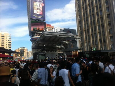 トロントのジャパンフェスティバル