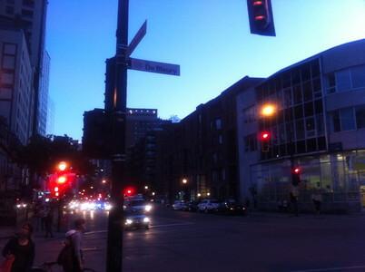 モントリオールのシェルブルック通り