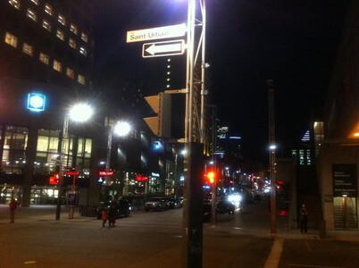 モントリオールのサン・ローラン通り