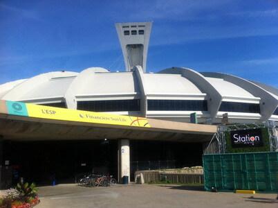 モントリオールのオリンピックスタジアム
