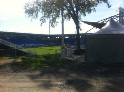 モントリオールのサッカースタジアム