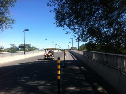 サンテレーヌ島の橋