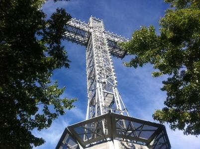 モン・ロワイヤル公園の十字架