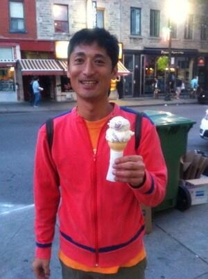 モントリオールのアイスクリーム