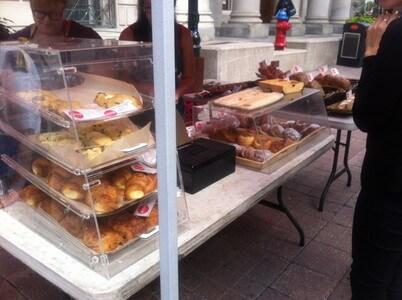 スパークス・ストリート・モールのパン屋さん