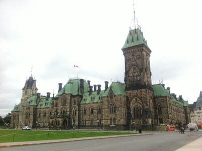 カナダの国会議事堂
