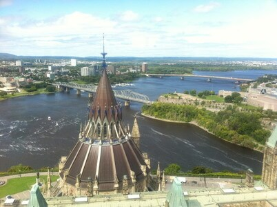 国会議事堂のピース・タワー