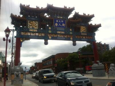 チャイナタウンの中華門