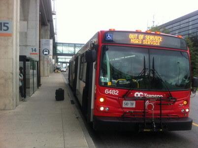 オタワのバス