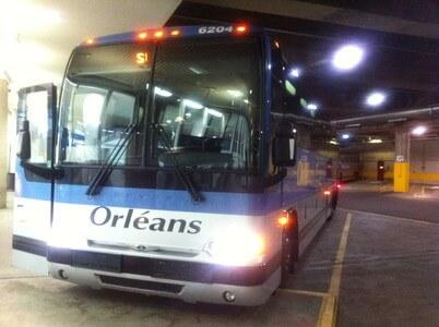オルレアン・エクスプレスのバス