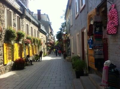 Marche-Champlain通り