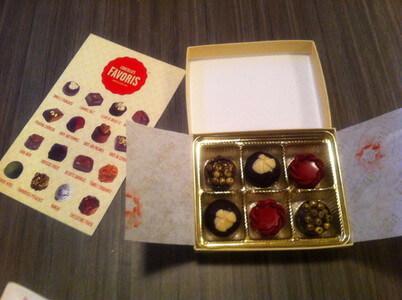 レヴィのチョコレート