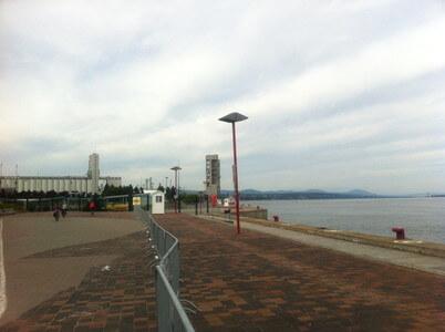 ケベックの旧港