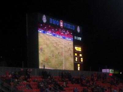 Toronto FC vs バンクーバー