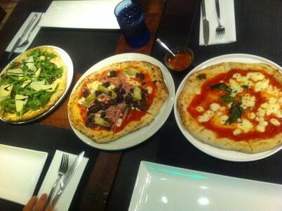 トロントのピザレストラン