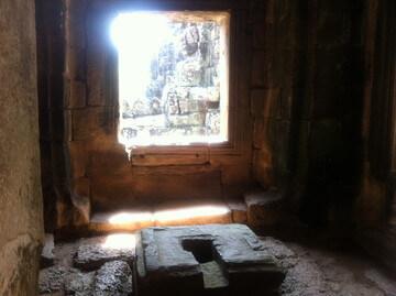 アンコールトムのバイヨン寺院