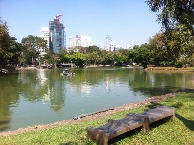 バンコクのルンビニー公園
