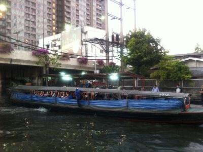 バンコクのクローン・タン船着場