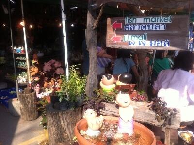 バンコクのウィークエンドマーケット