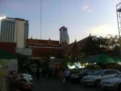 バンコクの寺院
