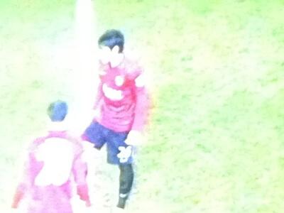 サッカーの香川選手