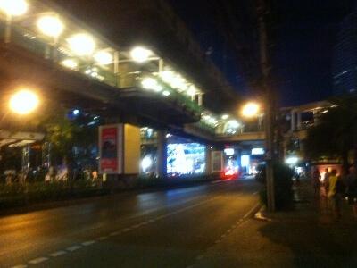 バンコクのAsok駅
