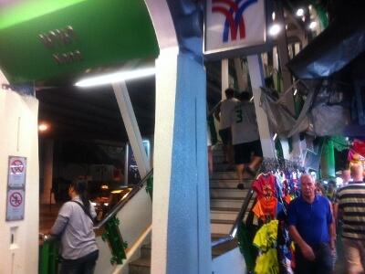 バンコクのNana駅