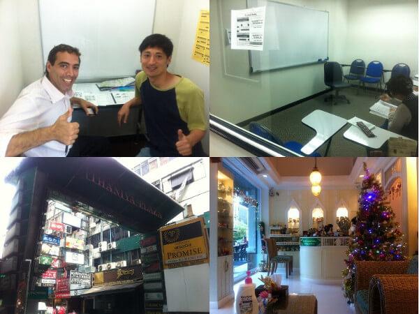 バンコクで英語の短期留学