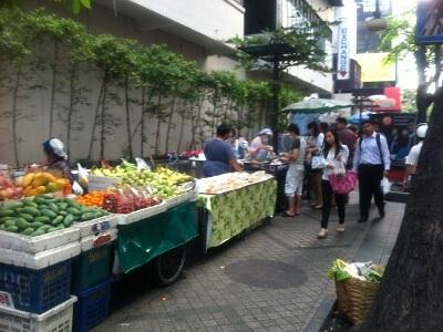 バンコクに英語の短期留学