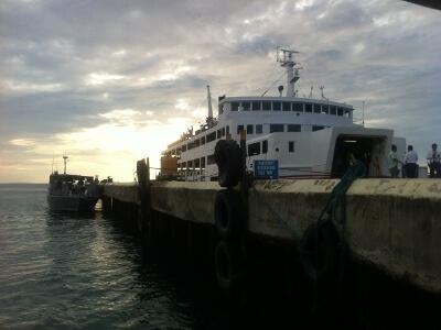 ボラカイ島のフェリー乗り場