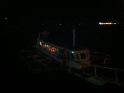 ボラカイ島のボート乗り場