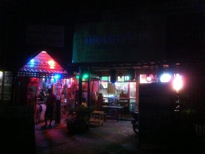 カリボ空港近くの中華料理屋