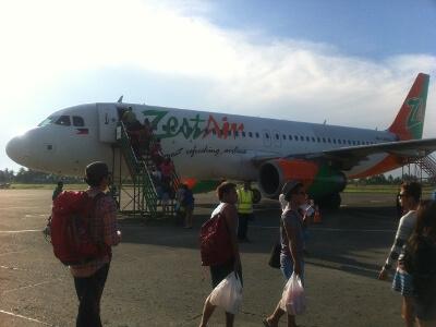 フィリピンのマニラ空港