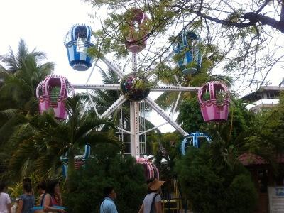 ボラカイ島の観覧車