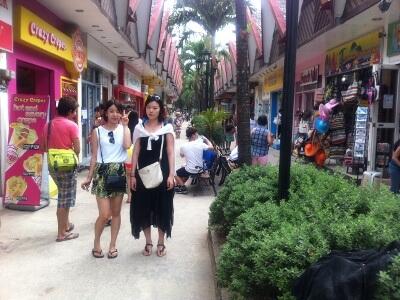 ボラカイ島の旅行記