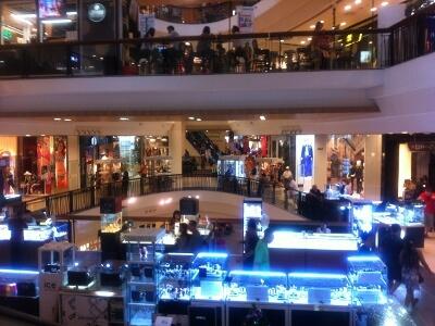 パタヤ―のショッピングモール