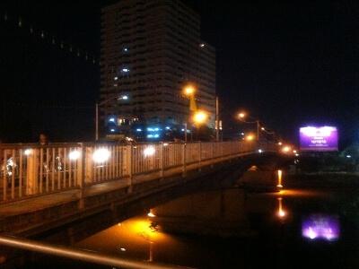 チェンマイのナコーン・ビン橋