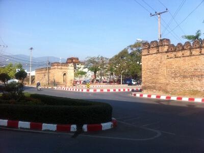 チェンマイのチャーン・プアク門
