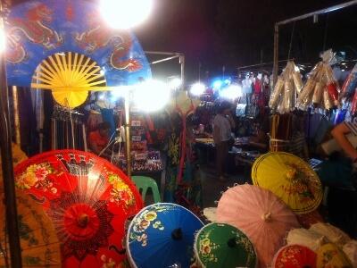 チェンマイの市場
